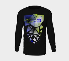 Evolv3 Unisex Long Sleeve Tee - 2X-Large / Black