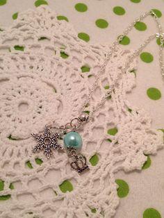 Frozen Chain Necklace, Disney Frozen Necklace, Disney Frozen Charm Necklace, Childrens Jewellery   by ChloeFaerieJewellery on Etsy https://www.etsy.com/listing/210633757/frozen-chain-necklace-disney-frozen