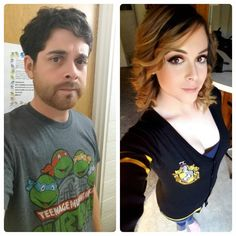 It's always fun to look back at how far I've come on my journey. Male To Female Transition, Mtf Transition, Male To Female Transgender, Transgender People, Mtf Before And After, Transgender Before And After, Mtf Hrt, Beautiful Boys, Gorgeous Women