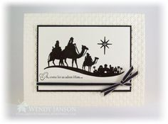 Come to Bethlehem, Wendy Janson, Stampin' Up!