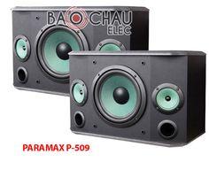 Loa PARAMAX P-509 là một trong những mẫu loa thuộc hãng loa paramax có chất lượng âm thanh khá tốt, giá rẻ. Hãy liên hệ với Bảo Châu elec để mua Loa giá tốt