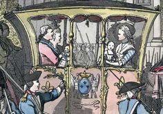 .La Fuga de Varennes (noche de junio 21/06/1791) fue un episodio importante en la Revolución Francesa, durante el cual el rey Luis XVI de Francia, su esposa María Antonieta, y su familia inmediata intentaron infructuosamente de escapar de París con el fin de iniciar un contrarrevolución. Su destino era Austria porque es allí donde Marie era de y que sabía que iban a encontrar la seguridad en su acuerdo de Austria francesa recién descubierto. Ellos sólo fueron capaces de hacerlo hasta el…