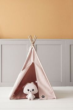 Searching for a gift ideas for girls? How about this pink tipi tent in a simple design? It's perfect as a place for playing in or being cosy. Kids room accessories on Evitas.com Toys For Girls, Gifts For Girls, Girl Gifts, Modern Baby Furniture, Kids Room Accessories, Wooden Playset, Wooden Toys, Toddler Rooms, Kids Rooms