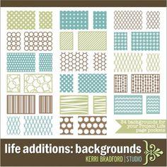 Kerri Bradford life additions: backgrounds