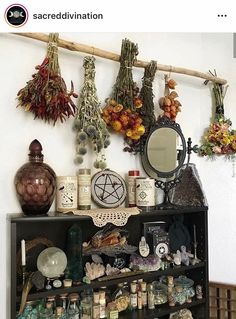 Pin by Annesthesia on Witch Room in 2019 Witch Cottage, Witch House, Witch Room, Wiccan Decor, Hippy Room, Baby Witch, Modern Witch, Ideias Diy, Witch Aesthetic