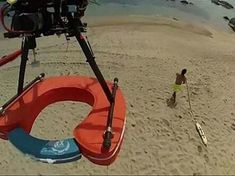 A Chilean company is hoping drone technology can help save lives. Drones fitted with a float, camera, microphone and speaker are being tested on the beaches ...  www.dronemylove.com