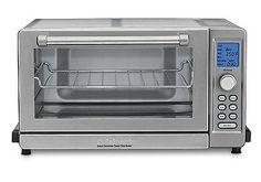 Toaster Ovens 122930: Cuisinart Tob-135N Deluxe Convection Toaster Oven Broiler, Stainless Steel New -> BUY IT NOW ONLY: $122.32 on eBay!