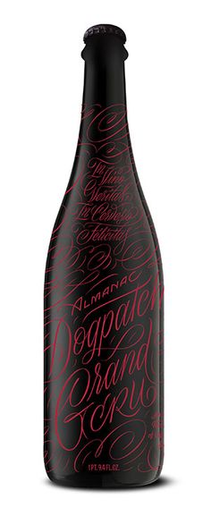 Almanac Beer Co. » Dogpatch Grand Cru Bottle Labels, Beer Bottle, Beer Labels, Beer Packaging, Packaging Design, Beer 101, Bottle Design, Craft Beer, Root Beer