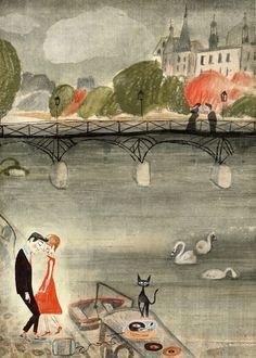Pont des Arts by Luciano Lozano