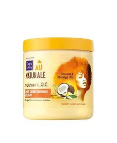 Dark and Lovely Deep Conditioning Delight Haircare, Part of the LOC Method for Natural Black Hair.