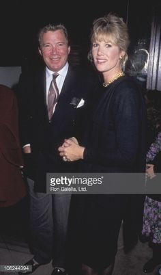 News Photo : William Shatner and Joan Lunden during 'Champagne...