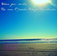 Band of Horses - when you smile, the sun it peaks through the clouds When You Smile, Your Smile, Music Is Life, My Music, Band Of Horses, Lyrics To Live By, Post Rock, Band Posters, Te Amo