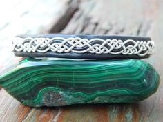"Sami Lapland Swedish Reindeer leather bracelet, braided pewter and silver, antler button, BLACK, SMALL+  (17.5cm / 6.9"") ""SERPENTINE"" by 62DegreesNorth on Etsy"