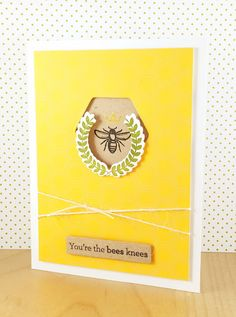 Stamped and Delivered: Bees and Berries No. 6 #amusestudio #stampedanddelivered