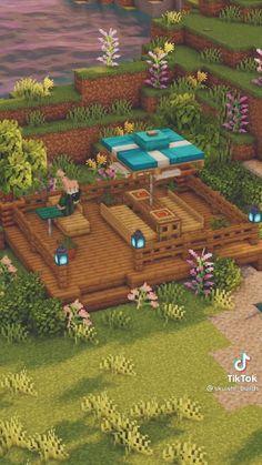 Cute Minecraft Houses, Minecraft House Tutorials, All Minecraft, Minecraft Plans, Minecraft House Designs, Minecraft Construction, Minecraft Tutorial, Minecraft Creations, Minecraft Crafts