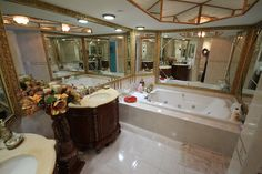 Master Spa/Bath On-suite of Oceania III Unit #2536 - For Sale $1.2M