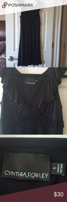 Little Black Dress Little Black Dress. Brand new no tags. Never worn. Smoke free home.  Bought for wedding one of many. Wore different one. Fun and flirty. Cynthia Rowley Dresses Midi