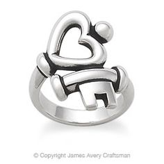 Key to My Heart Ring from James Avery. I love this ring, I Love This Ring, I LOVE THIS RING. I have loved it since I saw it on a co-workers finger a year ago and pout when I see it on another person's finger and not mine. hahaha