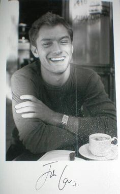 jude law and coffee:-). We all know I love coffee but this one would be a tough choice:-)