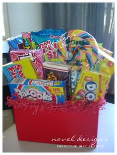 Candy Dream Gift Basket for Kids Birthday Party Favors & Decorations.  #LasVegas #Events