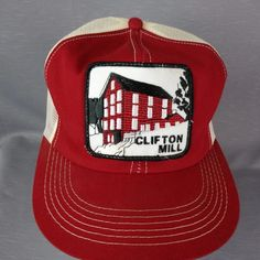 6bc983a9725 Clifton Mill Building with waterfall. K Products embossed on snapback.