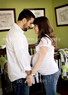 In the nursery...  Melissa Mullinax Photography
