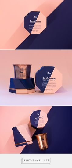 Tate &  Benson Candle Co. Packaging by Sherman Chia   Fivestar Branding Agency – Design and Branding Agency & Inspiration Gallery