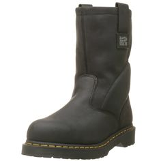 Dr. Martens Men's Icon Industrial Strength Steel Toe Boot ,Black ,13 UK (US Men's 14 M)