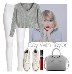 """Day with Taylor Swift"" by lovatic92 ❤ liked on Polyvore featuring мода, Givenchy, Converse, NARS Cosmetics, taylorswift, swiftie, Daywith и taylorsquad"