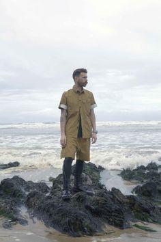 Griffin Bladecut Shirt - £125 Griffin USMC Shorts - £120 #griffin #griffinstudio #fashion #menswear #sportswear #lovelife #lovesummer #beach #summer #ss14