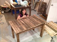 Our first ever pallet project..... watch for more to come :)