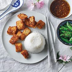 A quick and easy Fish Nuggets With Asian Dipping Sauce recipe, from our authentic Asian cuisine collection. Find brilliant recipe ideas and cooking tips at Gousto Sauce Recipes, Fish Recipes, Cooking Recipes, Cooking Tips, Fish Nuggets, Easy Dinner Recipes, Dinner Ideas, Cook At Home, Fish And Seafood
