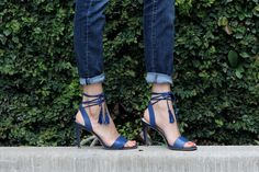 French Connection Tassel Sandals