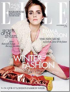 Elle UK. Emma Watson. November 2011.