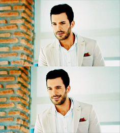 kiralık aşk   Tumblr Elcin Sangu, Turkish Fashion, Future Goals, Turkish Actors, Prince Charming, To My Future Husband, Barista, Cute Couples, Love Him