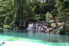 Parque acuático Amapulapa, San Vicente. El Salvador.