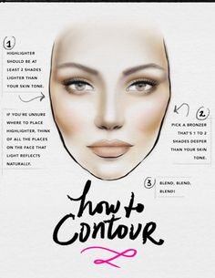 How to contour your face | @Beauty High