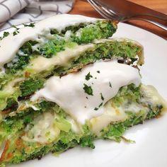 Sajttal töltött brokkoli tócsni - GastroHobbi Vegetarian Recipes, Healthy Recipes, Avocado Toast, Side Dishes, Eggs, Breakfast, Food, Drink, Veg Recipes
