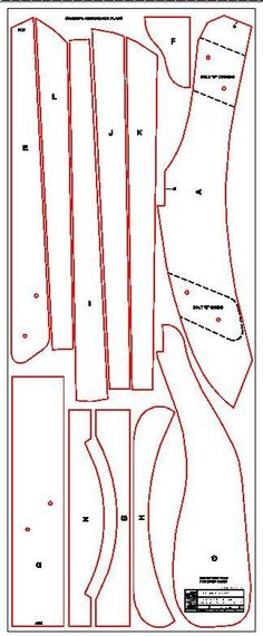 Grandpa Adirondack Chair Plans DWG files for by TheBarleyHarvest                                                                                                                                                                                 More #AdirondackChair