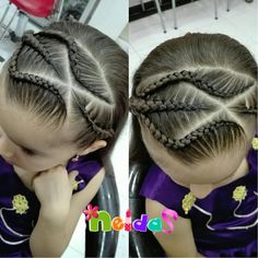 💗Así comenzamos este mes de #Abril, que Dios les Bendiga🙏, decreto un mes lleno de puestas abiertas, nuevas noticias y grandes proyectos… Lil Girl Hairstyles, Braided Hairstyles, Haircut And Color, Beautiful Braids, Toddler Hair, Natural Hair Styles, Hair Cuts, Hair Color, Hair Beauty