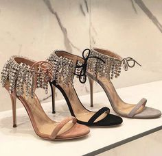 Giuseppe Zanotti Nude / Black / Grey heels