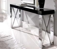 black lacquer table - Google Search