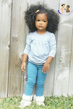 Blyss - 2 Years • Mom: Mexican, Native American & Caucasian • Dad: African American & Native American ❤
