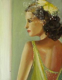The Torch Singer- Original Oil Painting