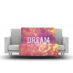 Dream Fleece Throw Blanket