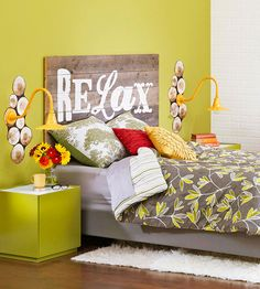 Create a bold look to your bedroom with a DIY headboard with your own personal touch. These headboard ideas are simple and affordable to give a new look to your bedroom.