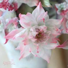 Ирина Сотникова Organza Flowers, Fabric Flowers, Paper Flowers, Fondant Flowers, Sugar Flowers, Handmade Flowers, Diy Flowers, Lace Painting, Felting Tutorials