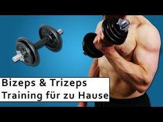 Bizeps und Trizeps Training - Muskelaufbau zuhause - Trainingsplan - YouTube