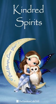 Friendship has never looked so enchantingly sweet with this Jasmine Becket-Griffith figurine featuring a mystical fairy and her wide-eyed owl. Perched atop a sparkling moon, these two kindred spirits are so sweet that they must be sent from heaven: Fairy Pictures, Wolf Pictures, Dragon Pictures, Pretty Pictures, Fairy Silhouette, Owl Always Love You, Fairy Figurines, Baby Fairy, Little Designs