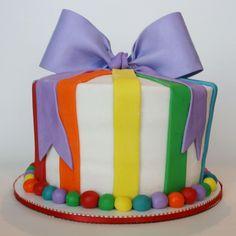 simple... rainbow cake